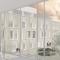 Ny sjukeheim i Bandadalen på Stord. Trekledningsfasade med varierende vinduspartier.