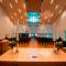 Kirkerommet med sitteplass til 450 personer i Etne Kyrkje
