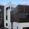 Haugesund Toppidrettsgymnas utført i betongelementer og trekledning