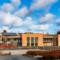 Skåredalen Skole, Kultur og Idrettssenter, av Arkitektontoret Brekke Helgeland Brekke AS