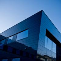Kystdesigns kontorlokaler i Aksdal tegnet av Arne Tveit hos Arkitektkontoret BHB AS