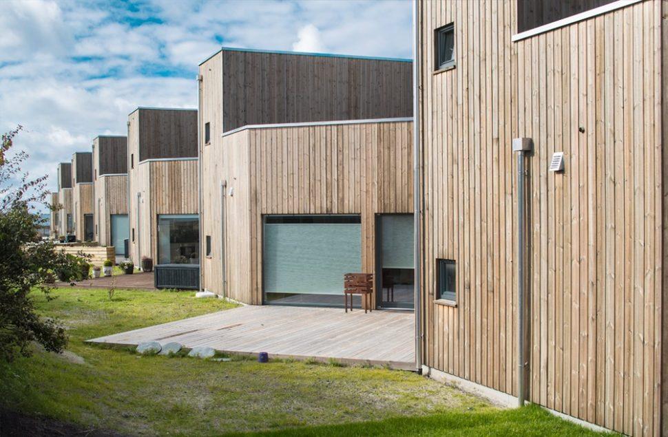 Odd Hansen boligprosjekt tegnet av Jan Ove Bjørheim Arkitektkontoret Brekke Helgeland Brekke AS